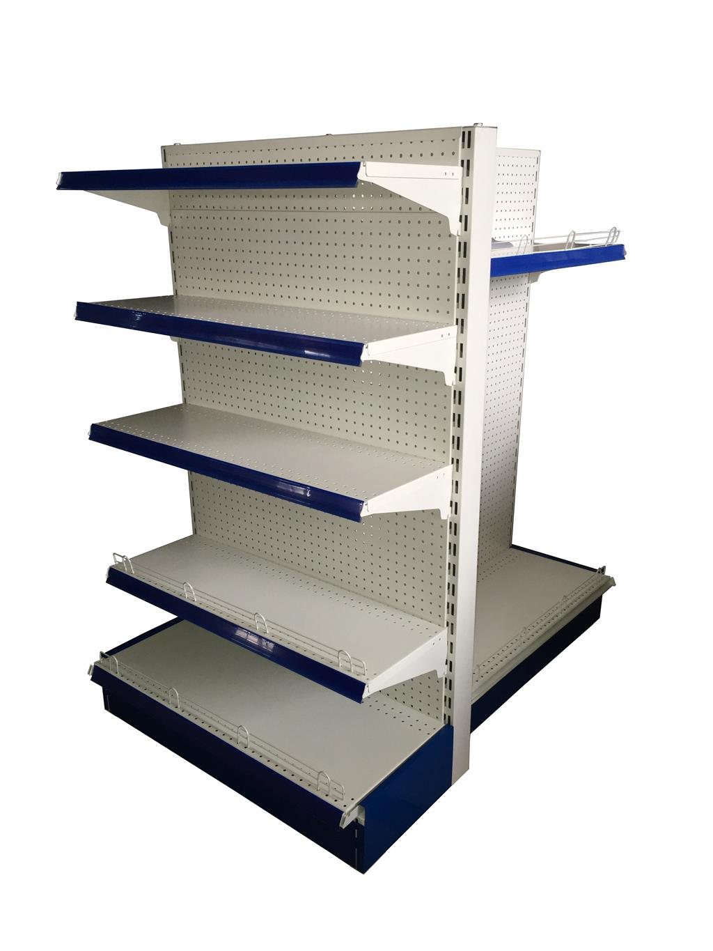 Perforated back panel shelf 4