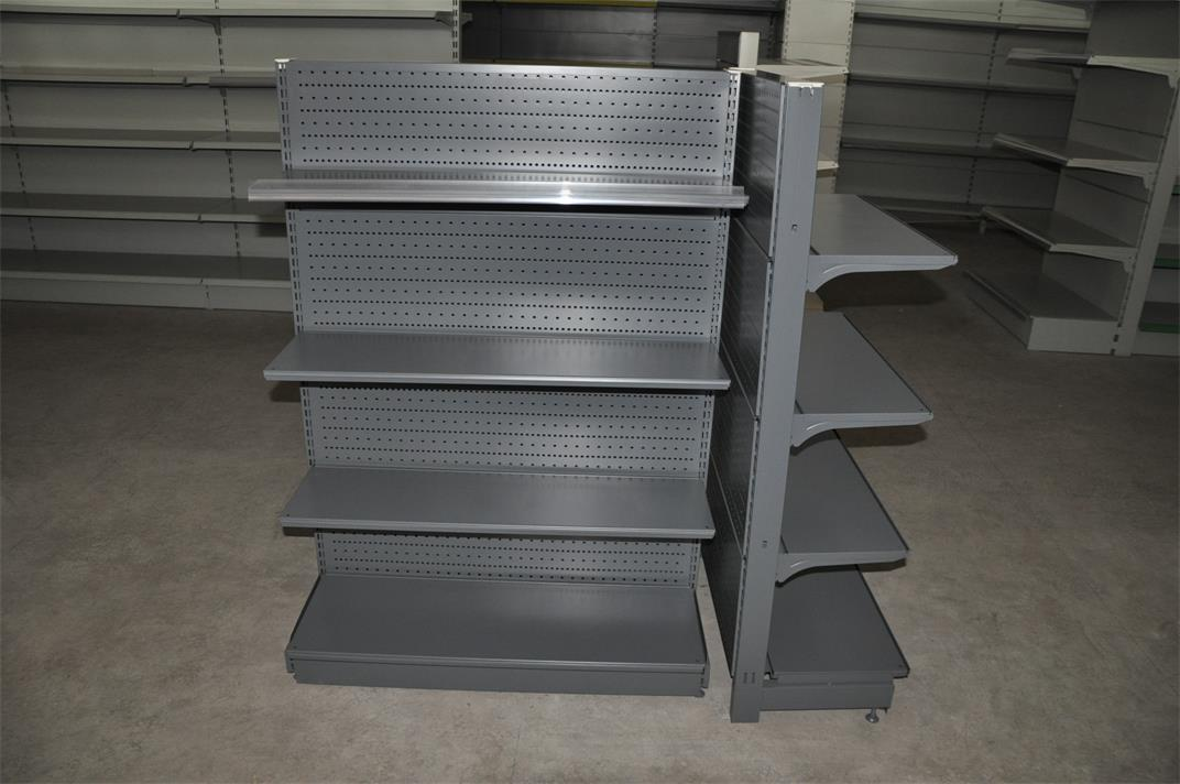 Perforated back panel shelf 5