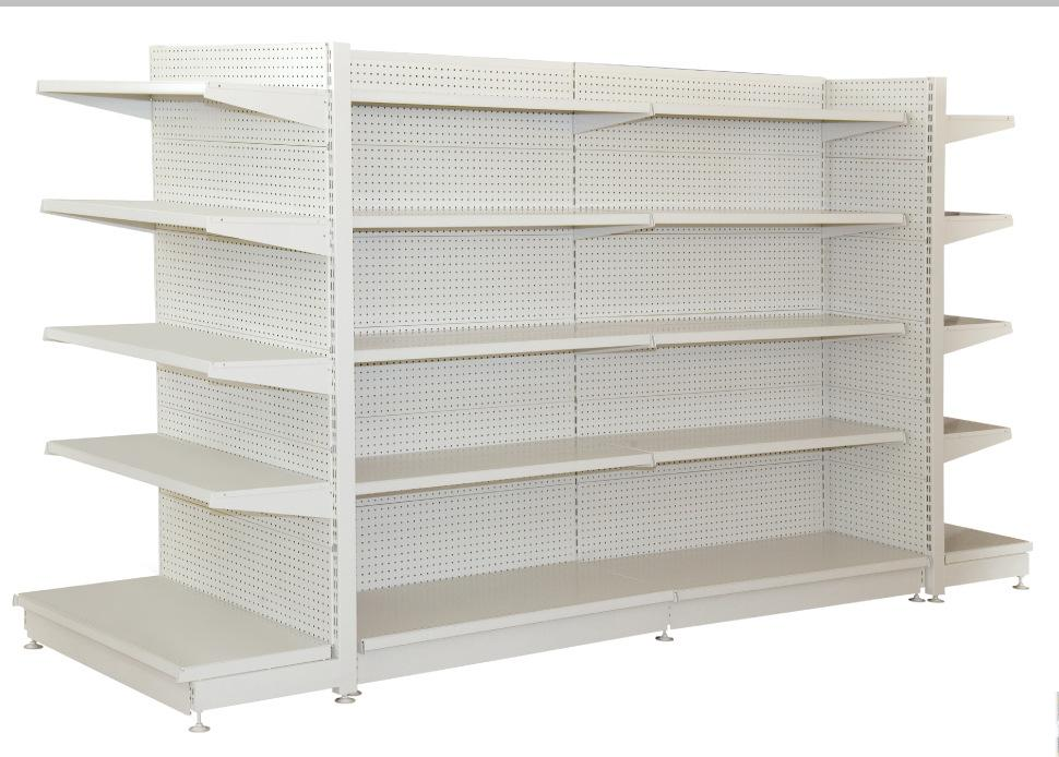 Perforated back panel shelf 9